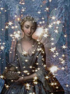 romany-soup-art.blogspotdotcom..Princess among the stars:)