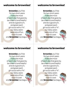 Welcome to Brownies