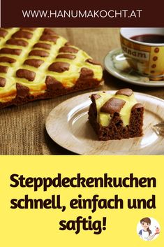 Fast quilt cake - upholstery- Schneller Steppdeckenkuchen – Polsterkuche Apart from the cool look, this cake is still soft as a real blanket and so juicy. Easy Vanilla Cake Recipe, Easy Cake Recipes, Easy Desserts, Baking Recipes, Dessert Recipes, Dessert Simple, Cake Rapide, Quilted Cake, Food Cakes