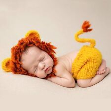BAB- Hand made 2019 New Cute Lion Baby Hats Newborn Soft Hand-knit Animal Baby Always wanted to discover how to knit, yet unclear the place to start? This particular Overall Beginner Knitting Sequenc. Baby Set, Newborn Photography Props, Newborn Photos, Photography Outfits, Clothing Photography, Baby Pictures, Baby Photos, Baby Shooting, Crochet Costumes