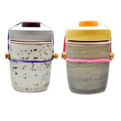 ceramic jars by Ben Fiess