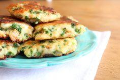 Croquettes de pain au comté et au persil