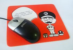 Mousepad Mario Bross