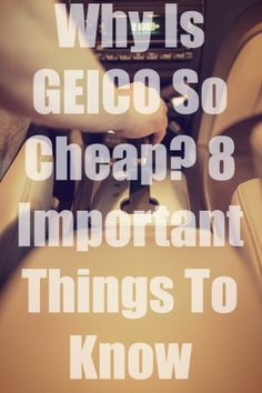 Why Is GEICO So Cheap? 8 Important Things To Know Car Insurance Tips, Hard Questions, Things To Know, Lawyer