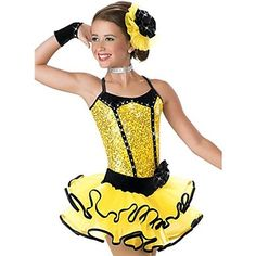 Jazz Performance/Dancewear Kids' Black Edgeway Jazz Dance Costumes For Girls (More Colors) – USD $ 89.99