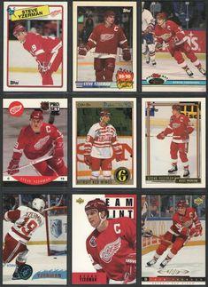 1984-85 Topps Hockey Steve Yzerman ROOKIE Detroit Red Wings Near-Mint Plus