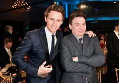 Pin for Later: All' eure Lieblingsstars drängelten sich bei den Hollywood Film Awards Eddie Redmayne und Mike Myers