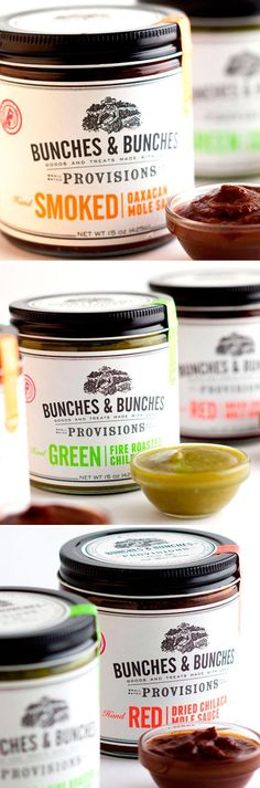 Bunches & Bunches, a gourmet food company based in Portland, Oregon.  Credits: photography by Gavin Peters for Dean & Deluca, and photography shot in-studio at Miller™