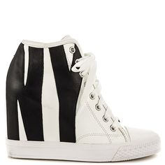 Grommet Zip - Wht Black by DKNY
