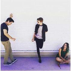 Dylan, Thomas, and Kaya