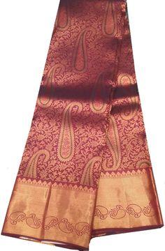 Maroon Handloom Kanjeevaram Pure Silk Saree  #kanjeevaramsaree#puresilksaree# Kanjivaram Sarees Silk, Kanchipuram Saree, Pure Silk Sarees, New Saree Designs, Wedding Saree Blouse Designs, Big Broder, South Silk Sarees, Silk Sarees Online Shopping, Silk Sarees With Price