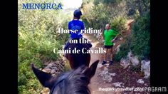 A tranquil horse-ride by the coast at Son Bou, along the Cami de Cavalls, a route that circles the beautiful island of Menorca. Spanish Islands, Balearic Islands, Travel Videos, Menorca, Beautiful Islands, Horse Riding, Horseback Riding, Cami, Places To Go