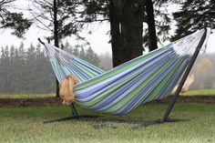 Vivere Hammocks Two Person Fabric Hammock with Stand & Reviews   AllModern