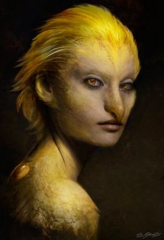 Beautiful portraits of Grimm's fairy tale monsters are worth a spot on your wall. Seltenvogel