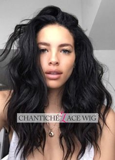 6A Human Hair Front/Full Lace Wigs Brazilian Remy Wave Wig For African Americans