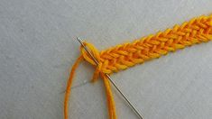 Crochet ideas that you'll love Hand Embroidery Videos, Embroidery Stitches Tutorial, Sewing Stitches, Hand Embroidery Stitches, Hand Embroidery Designs, Embroidery Techniques, Plait Braid, Brazilian Embroidery, Handmade Toys