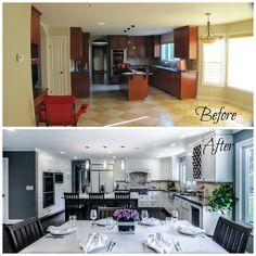 Love the new white kitchen!