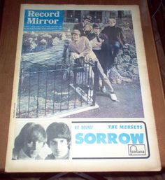 Record+Mirror+Magazine+1966+The+Who+Yardbirds+Manfred+Mann+Otis+Redding+Vintage