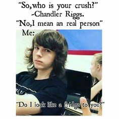 Chandler Riggs.I made it I hope you like it.