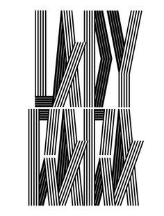 V Magazine  / Alex Trochut #grafica #tipografia