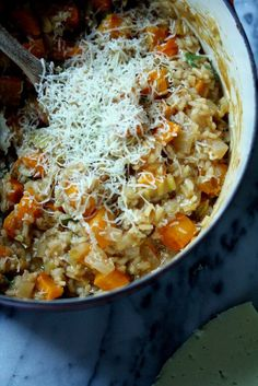 Butternut Squash Risotto | A Cup of Jo