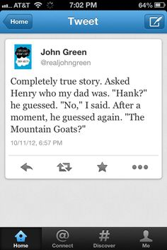 John green and Henry green Henry Green, John Green Books, Looking For Alaska, Bae, The Fault In Our Stars, My Tumblr, Laugh Out Loud, The Funny, In This World
