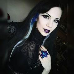 #Goth girl Villena VIscaria