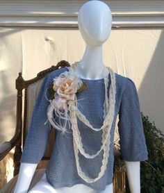 Crochet Hand Made Blouse by KisKissay on Etsy, $110.00