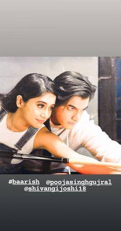 Cutest Couple Ever, Cute Love Couple, Lovely Girl Image, Girls Image, Tv Couples, Romantic Couples, Bollywood Girls, Bollywood Stars, Shivangi Joshi Instagram
