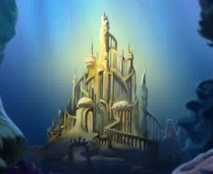 The undersea castle in Little Mermaid is my favorite castle. It is so magical and unique, the design is wonderful :)