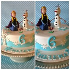 Frozen Disney's movie cake :D