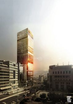Y. Thome - Beirut, LB - Office Tower  / visual dougandwolf