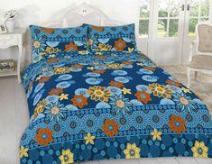 Willow Floral Duvet Quilt Cover Bedding Set | Blue — Linens Range