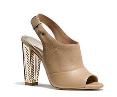 COACH | LILLIE HEEL #modern #style #heel #fashion
