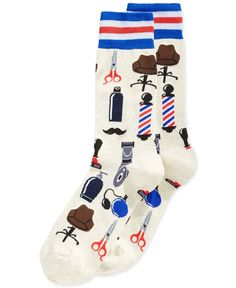 Underwear and socks Barbershop Design, Barbershop Ideas, Barber Logo, Look Fashion, Mens Fashion, Designer Socks, Cool Socks, Sneaker Boots, Stockings