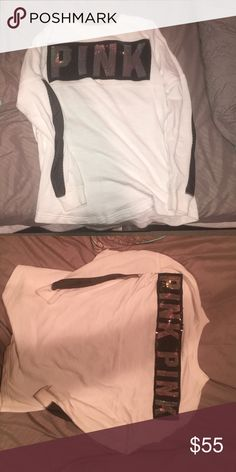 Vs pink bling long sleeve Excellent condition PINK Victoria's Secret Tops Tees - Long Sleeve