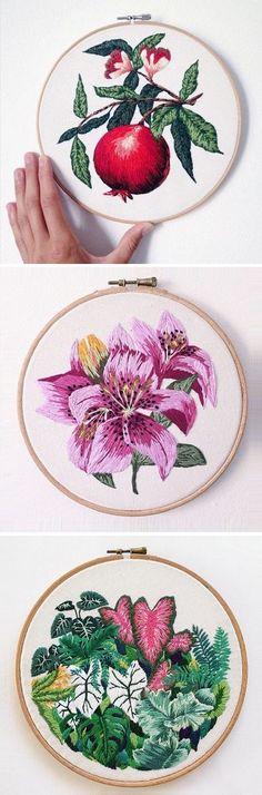 Embroidery by Sam Eldridge / on the Blog!