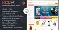 Mega Shop - Magento Responsive Template :  Check out this great #themeforest item 'Mega Shop - Magento Responsive Template' http://themeforest.net/item/mega-shop-magento-responsive-template/6608610?ref=25EGY