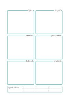 DIY Planer - organizer do wydrukowania   Piafka Calendar Organization, Cartoon Wallpaper Iphone, Crochet Kitchen, Simple Life Hacks, House Smells, Planner Template, Free Prints, Bujo, Projects To Try