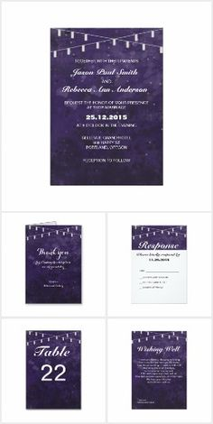 Chic and unique watercolor starry snowy night sky wedding theme. Invites, Wedding Invitations, 25th Anniversary, Night Skies, Packaging, Sky, Heaven, Heavens, Wedding Invitation Cards
