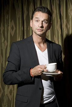 Dave Gahan - I love this pic of him.