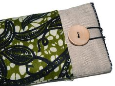 Green African Fabric Alcatel Onetouch Idol2 case / by Driworks