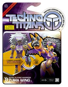 """Techno Titans toybox """"Zuma Wing"""""""