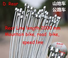 Road bike MTB Bike Fixed Gear Bicycle Brake Line Shift Shifter Gear Brake Cable Sets Core Inner Wire Steel Speed line SCX005