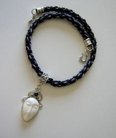 Beautiful Buddha Pendant on Braided Cord with by LotusJewels, $74.99