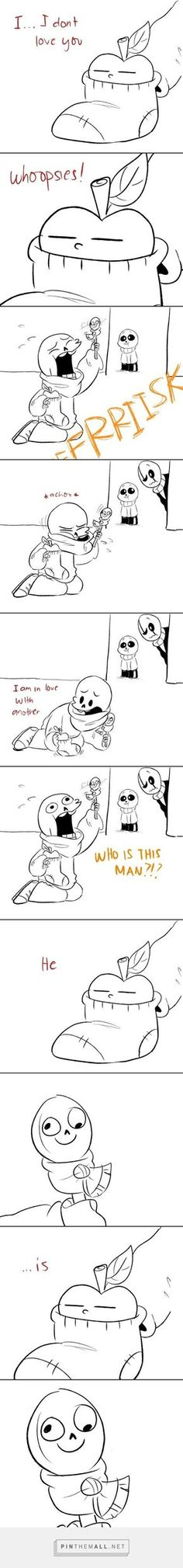 Undertale comic, Theatre of Papyrus, part 2 - created via https://pinthemall.net