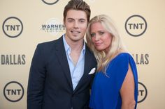 Josh henderson and his mom