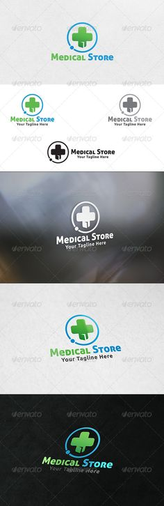Medical Store - Logo Template