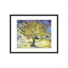 "Frames By Mail Mullberry Tree by Van Gogh Framed Print - 11"" x 14"" - FPF322-BMG-RM"