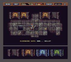RPG Dungeons Mockup : Update 2